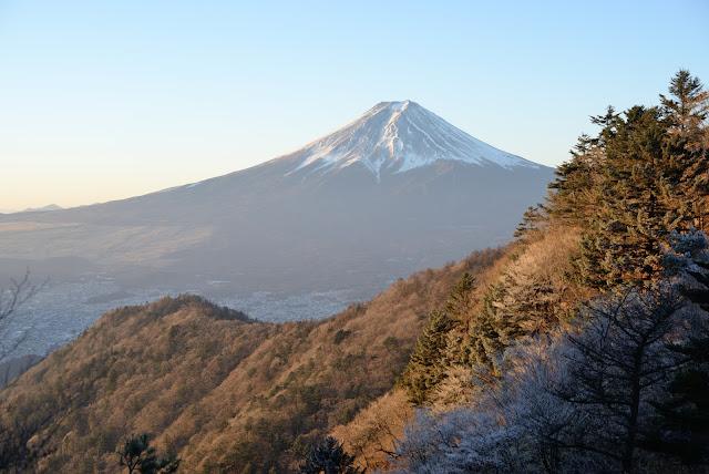 三つ峠 元旦 富士山