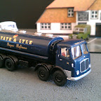 AEC MkV 8 Whl Tanker Tate & Lyle Probably a vehicle that never existed but I like it, Parts Used AEC3 cab, various B/toys parts