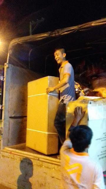 Thuê xe tải chở hàng quận 7