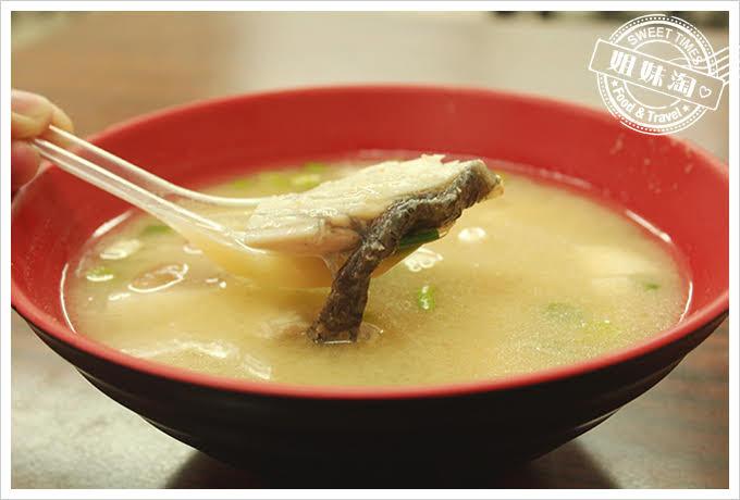 高雄年利鱸魚湯味噌鱸魚湯