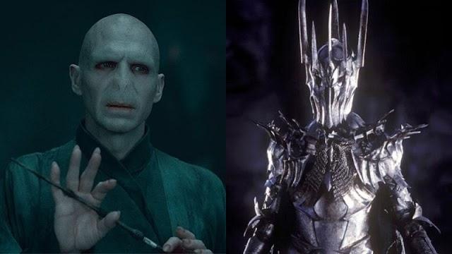 3 coisas em comum entre Voldemort, de Harry Potter, e Sauron, de O Senhor dos Anéis