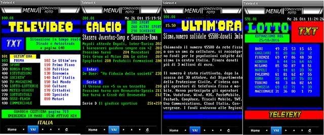 teletext-tv-italia
