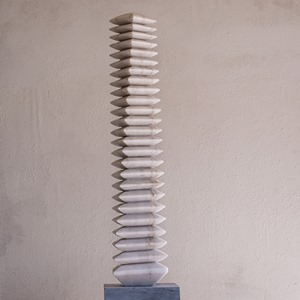 Slim: PORTUGUESE MARBLE, 2013: W 26cm, H 145 cm, D 26 cm; SOLD