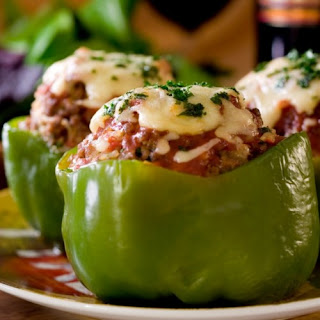 Skinny Italian Stuffed Peppers