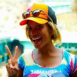 happy Amber at Tokyo DisneySea in Urayasu, Tiba (Chiba) , Japan