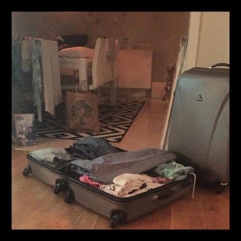 Jag+packning=katastrof