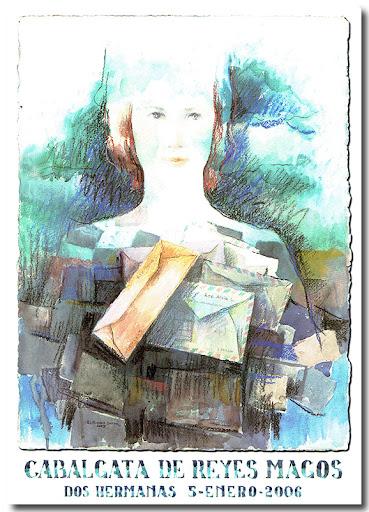 Cartel Cabalgata 2006, autor: Enrique Ramos Guerra