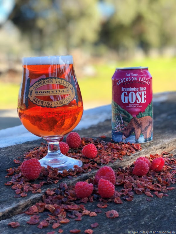 Anderson Valley Releasing Framboise Rose Gose