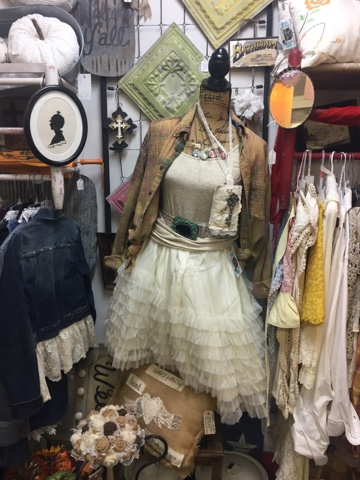 Petticoats and Repurposed Clothing