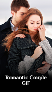 Romantic Love Couple GIF – Kiss GIF 1