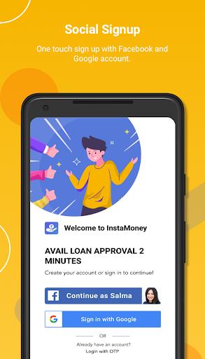InstaMoney - Instant Loans, Advance Salary  screenshots 1