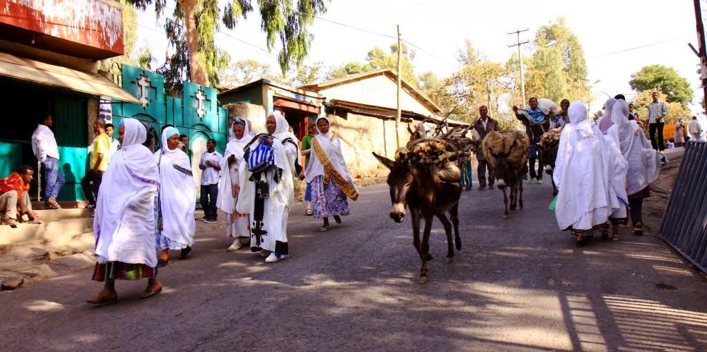 Kelione i Etiopija.Gondaras