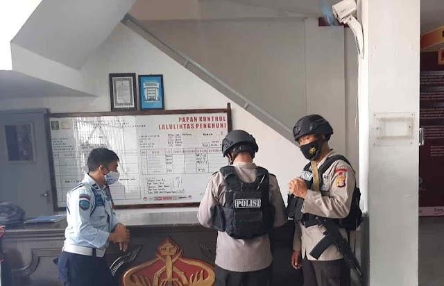 Antisipasi Hal Tak Diinginkan, Brimob Batalyon A Pelopor Gencar Sambangi Lapas di Kota Balikpapan