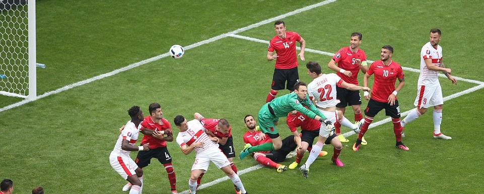 Switzerland vs Albania Video Highlights (Euro 2016)