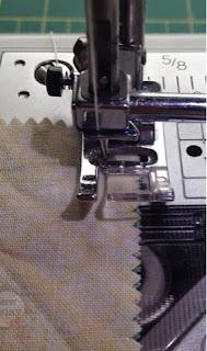 Sew a 1/4'' seam