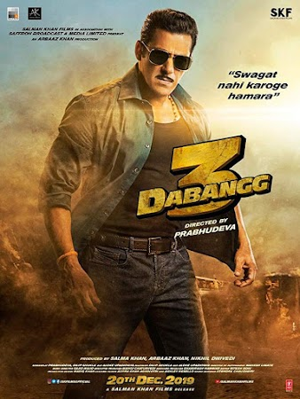 Watch Online Bollywood Movie Dabangg 3 2019 300MB HDRip 480P Full Hindi Film Free Download At WorldFree4u.Com