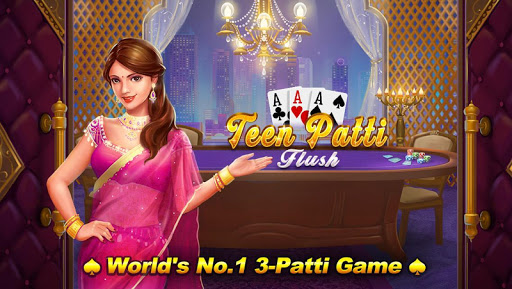 Teen Patti Flush: 3 Patti Poker 1.2.4 screenshots 1