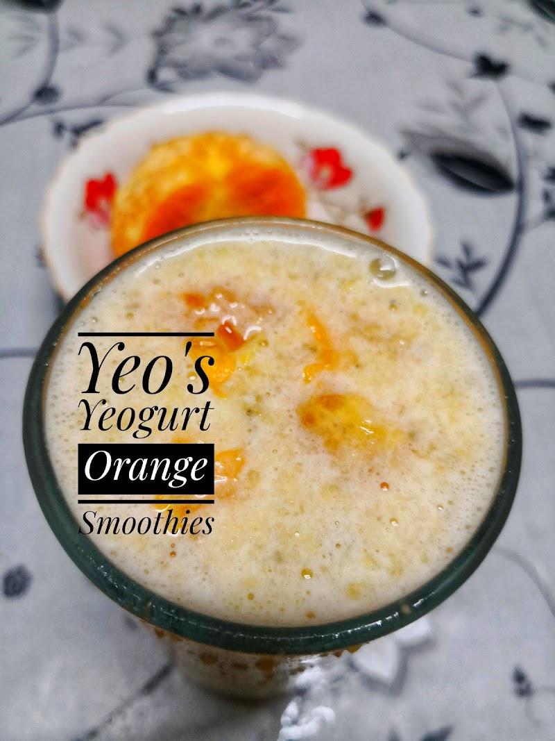 Dapur Fieza Sani - Yeo's Yeogurt Orange Smoothies