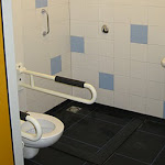 Mindervaliden-toilet / douche