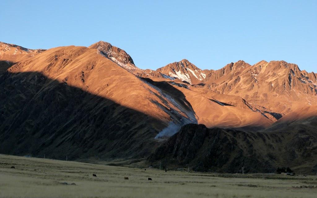 Perus La Raya Pass zwischen Cusco und Sicuani 2