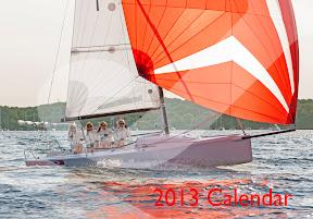 J/Sailing Calendar 2013- J/70 cover