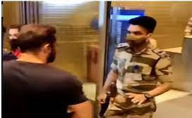 CISF Officer Lands in trouble over stopping salman khan at the airport