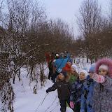 Экологическая тропа зимой - наблюдение за зимующими птицами
