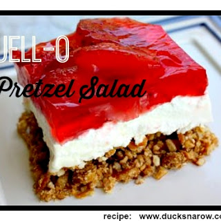 Ever Popular Jell-O Pretzel Salad