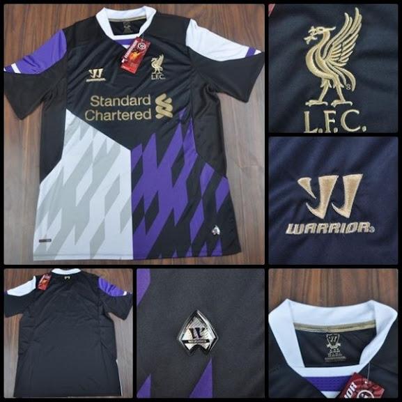 Jual Jersey Liverpool Third Terbaru 2014