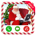 Video Call from Santa Claus icon