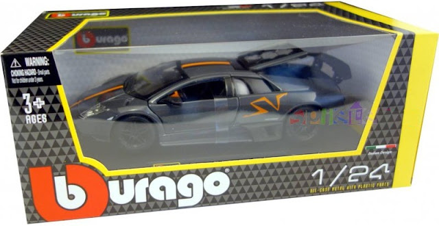 Sản phẩm mô hình Murcielago LP670-4 SV China Limited Edition màu đen tỷ lệ 1:24 Bburago