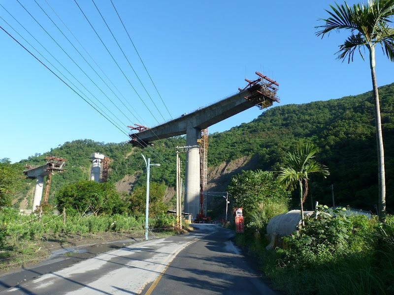Future route en construction