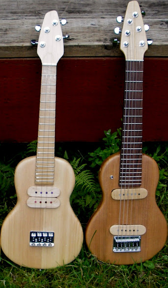Mark Vinsel Guitalele and Tenor ukulele