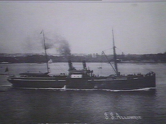 S.S. Allowrie, Illawarra & South Coast Steam Navigation Co Ltd