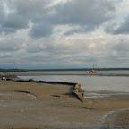 Playas junto al muelle turístico
