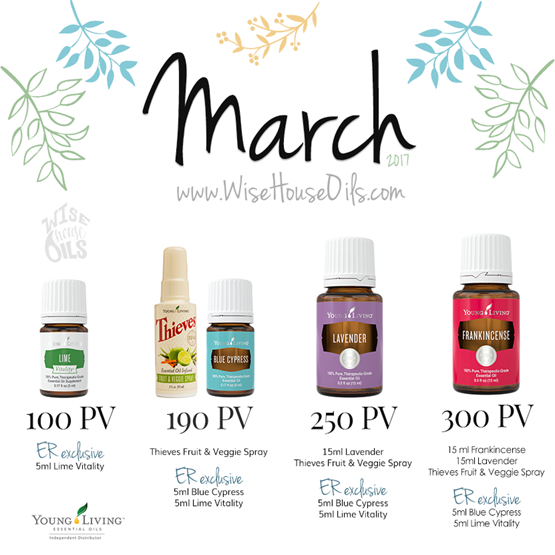 March 2017 Young Living Promo WHO