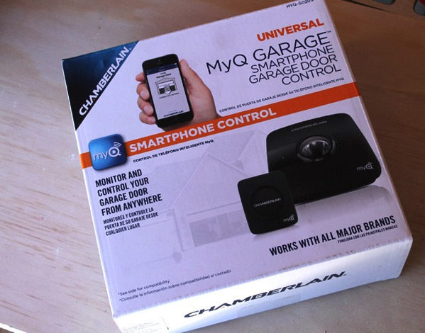 MyQ wireless garage door control