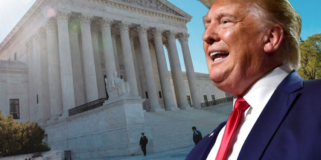 The Supreme Court finally lets the light shine on Trump