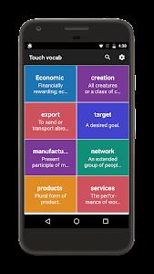 Touch Vocab - A Pop Up Dictionary 1.0