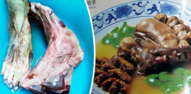 Gempar, Restoran Ini Jual Menu Masakan Kaki Manusia