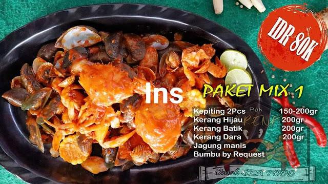 Omah Seafood Pak Brenk Pare Sajian Khas Bagi Pecinta Makanan Seafood