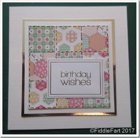 Patchwork Birthday Card 2