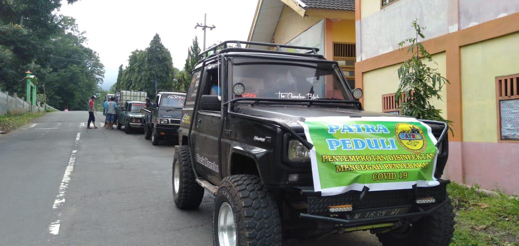 Solidaritas paguyuban jeep PATRA  BROMO ditengah pandemi covid .19