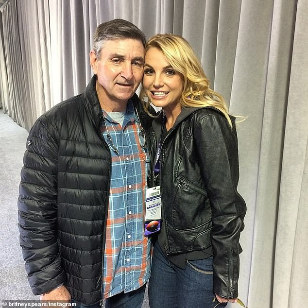 Britney Spears' father Jamie Spears petitions to end her 13-year conservatorship