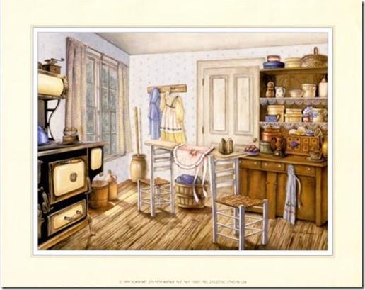 láminas antiguas, ilustraciones viviendas  (5)