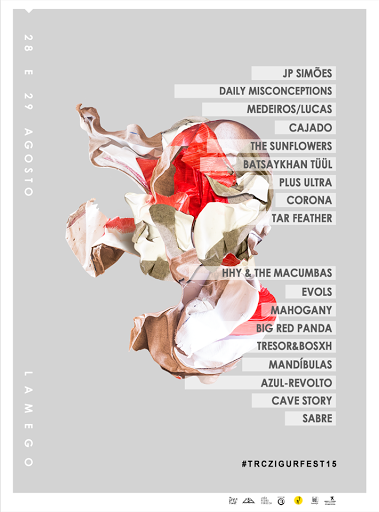 Jp Simões, os Mandibulas, Batsaykhantüül e Big Red Panda fecham o cartaz da quinta edição do TRC ZigurFest