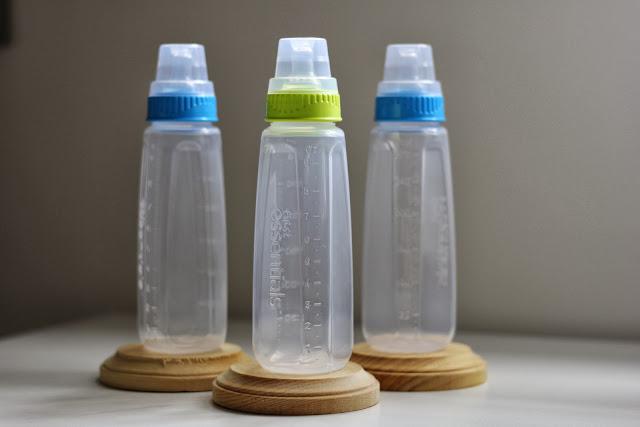 Walmart, First Essentials 3 Pack Bottles.