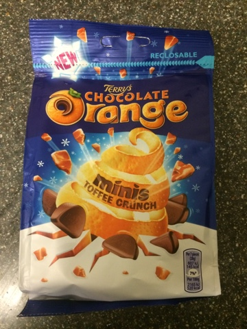 A Review A Day Today S Review Terry S Chocolate Orange Minis