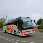 Berkhof van Contiki Holidays bus 1119