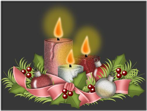 fotos velas de Navidad (9)